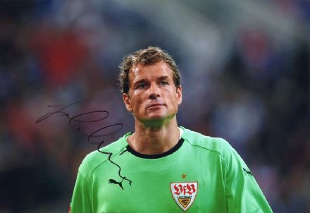 Jens Lehmann, Stuttgart & Germany, signed 12x8 inch photo.